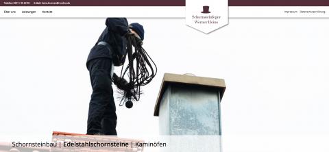 Schornsteinfeger Heins - Schornsteinsanierung in Bremen  in Bremen