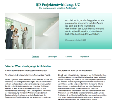 IJD Projektentwicklungs UG in Bergisch Gladbach in Bergisch Gladbach