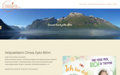 Christa Opitz-Böhm, Heilpraxis in Wolfratshausen in Wolfratshausen