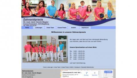 Ihr Zahnarzt in Magdeburg für ein strahlendes Lächeln: Dr. Henrik Wagler  in Magdeburg