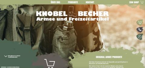 Der Shop für Militärkleidung in Deutschland: Knobelbecher Armee- und Freizeitartikel GmbH in Weinheim