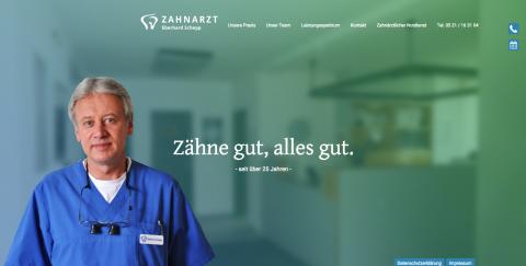 Zahnarzt Bielefeld – Eberhard Schepp hat vollstes Vertrauen in Sie und Ihre Zähne in Bielefeld