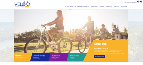 Ihr Fahrradverleih in Bonn: Velo Wunderlich in Bonn
