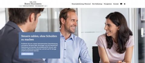 Kompetente Steuerberatung in Oberursel: Wirtschaftsprüfer und Steuerberater Dipl.-Kfm. Bernd Hagenbring  in Oberursel