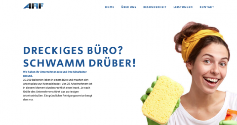 ARF Allgemeine Reinigungstechnik und Fußbodenspezialreinigung GmbH – Professionelle Gebäudereinigung in Berlin  in  Berlin