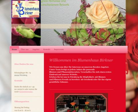Blumenhaus Birkner in Nürnberg in Nürnberg