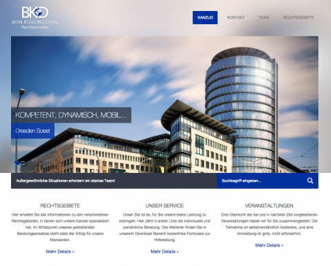Kanzlei BKD Boin Küseling Diehl in Soest – kompetent, dynamisch, mobil in Soest