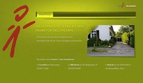 Praxis für Ergotherapie Ulrike Bleiming in Coesfeld, Billerbeck und Nottuln in Coesfeld