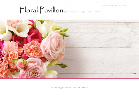 Floral Pavillon - der liebevolle Service für Ihre Traumhochzeit in Berlin