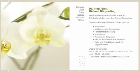 Zahnarztpraxis Dr. med. dent. Michael Börgerding in Essen in Essen