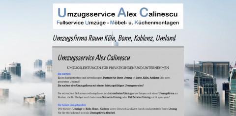 Umzüge für Privatpersonen und Unternehmen – Umzugsservice Alex Calinescu in Bonn  in Brohl-Lützing