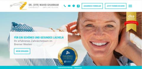 Alles für ein gesundes Lächeln - Zahnarztpraxis Dr. Ghannam in Bremen in Bremen
