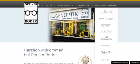 Optiker Roder in Hamburg sorgt für gute Sicht in Hamburg