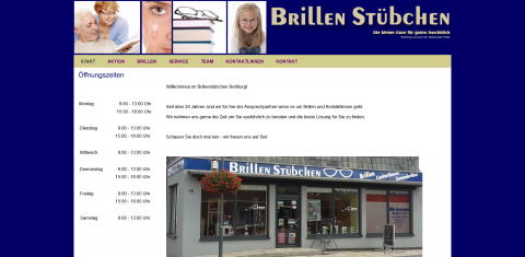 Ihr Optiker in Rehburg: Brillenstübchen Blöthe in Rehburg-Loccum