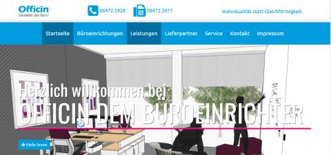 Officin im Kreis Limburg-Weilburg: Ihr Experte in Sachen Büroeinrichtung in Weilmünster