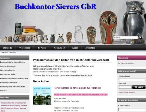 BuchKontor Sievers GbR – Online-Shop für Kinderbücher in Bischofsheim
