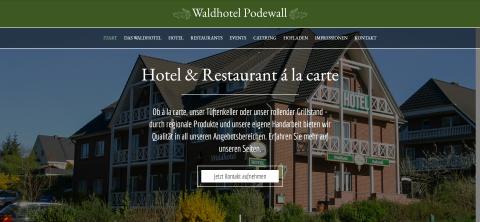 Ihr Catering in Neubrandenburg: Waldhotel Podewall in Trollenhagen