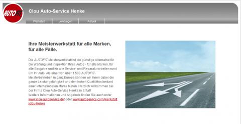 Autoservice in Erfurt: Clou Auto-Service Henke in Erfurt