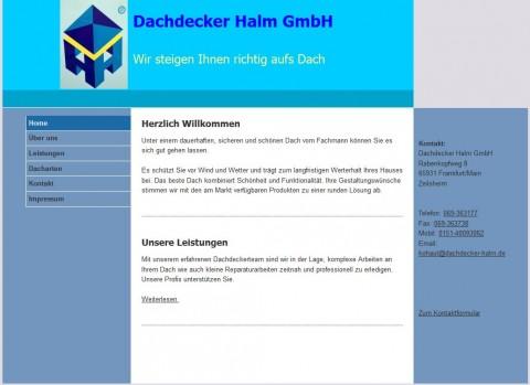 Dachdecker Halm GmbH in Frankfurt/Main in Frankfurt/Main