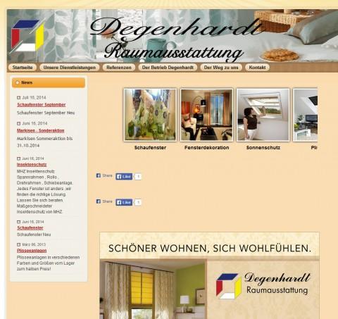 Sonnenschutz in der Region Göttingen: Raumausstattung Degenhardt in Bad Sachsa