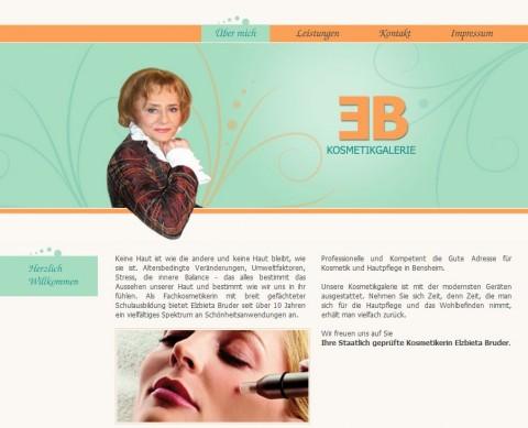 Kosmetikstudio in Bensheim: E.B. Kosmetikgalerie in Bensheim