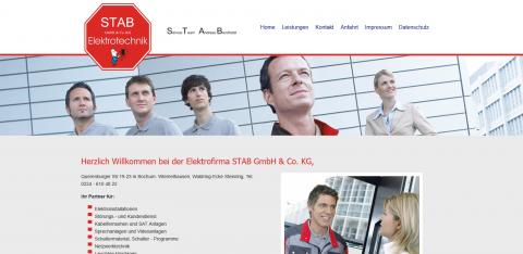 Ihr Profi für Elektrotechnik in Bochum: STAB Elektro GmbH & Co. KG in Bochum