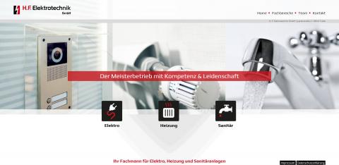 Ihre Profis für Elektro, Heizung, Sanitär – H. F. Elektrotechnik GmbH aus Fulda in Fulda
