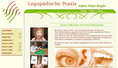 Logopädische Praxis Almut Heyn-Engür in Jena  in Jena-Löbstedt