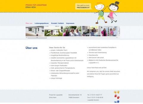 Logopädie in Sinsheim: Praxis Erika Henk in Sinsheim (Rohrbach)
