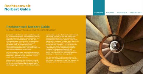 Fachanwalt für Baurecht in Mainz: Rechtsanwalt Norbert Galda in Mainz