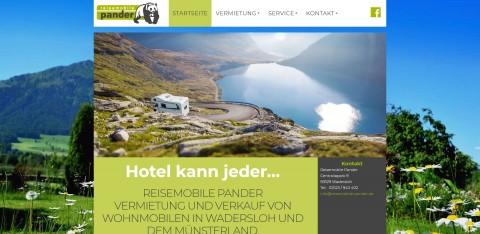 Ihr Partner für Wohnmobile in NRW: Reisemobile Pander in Wadersloh