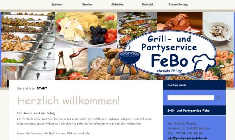 Grill- & Partyservice FeBo in Bochum in Bochum-Harpen