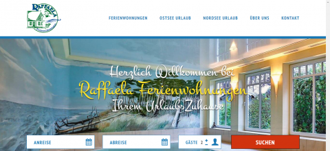 Unterkünfte in Zingst: Raffaela Ferienwohnungen   in Zingst