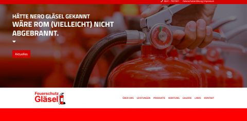 Ihr Experte für Feuerschutz in Kaiserslautern – Steffen Gläsel in Kaiserslautern