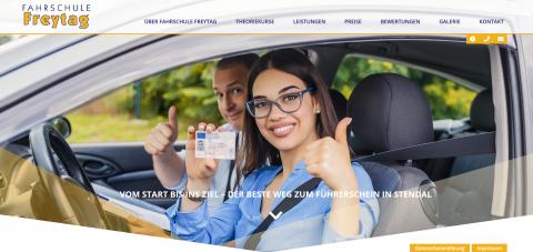 Ihre Fahrschule Freytag: sicher und zügig zum Pkw-Führerschein  in Stendal