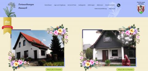 Komfortabel übernachten in Spremberg: Ferienhaus / Ferienwohnung Hannusch  in Spremberg