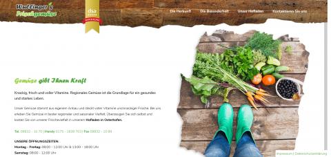 Regionales Gemüse bei Deggendorf: Wullinger's Hofladen in Osterhofen