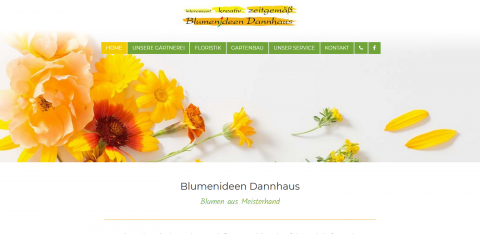 Ihre Gärtnerei in Herford: Blumenideen Dannhaus in Herford