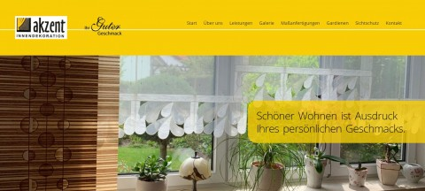 Für jedes Fenster die passende Dekoration: Gardinenschienen- und stangen von Akzent Innendekoration in Cottbus