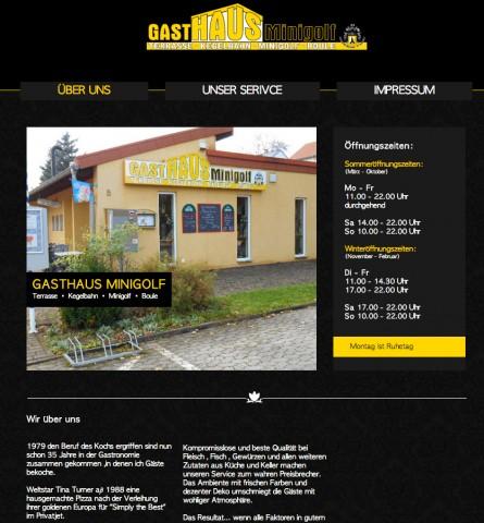 Gasthaus Minigolf in St. Ingbert in St.Ingbert