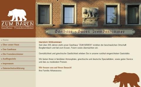 """Gasthaus mit Fremdenzimmern in Fürth: """"Zum Bären"""" in Fürth - Burgfarrnbach"""
