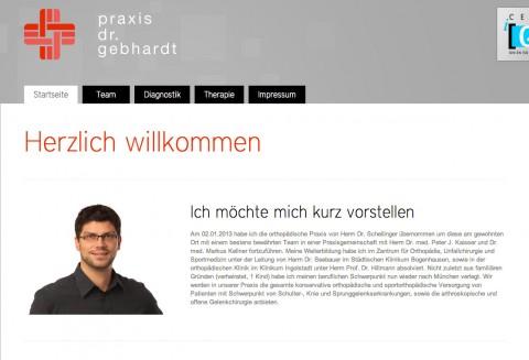 Praxis Dr. Gebhardt in München  in München
