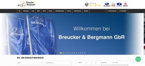 Autoverkauf in Düsseldorf: Autohaus Breucker & Bergmann in Düsseldorf