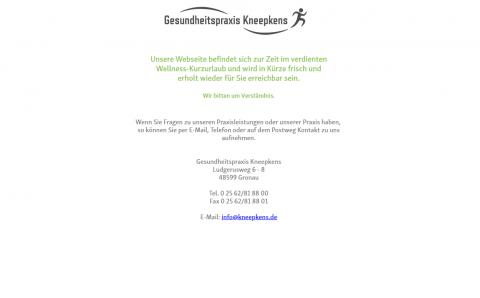 Gesundheitspraxis Kneepkens: Vielfältige Physiotherapie in Gronau in Gronau