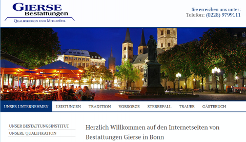 Bestattungsinstitut Gierse in Bonn in Bonn