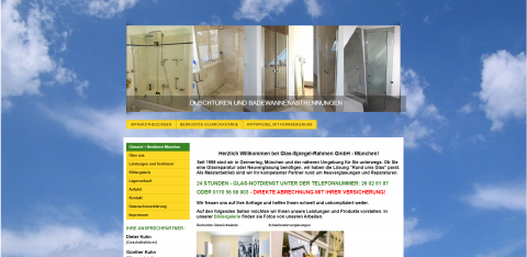 Ihr Experte für eine Glasreparatur in München: Glas-Spiegel-Rahmen GmbH in München
