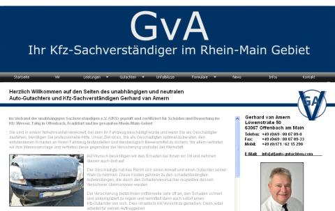 SV-Büro für Kraftfahrzeuge Gerhard van Amern in Offenbach  in Offenbach
