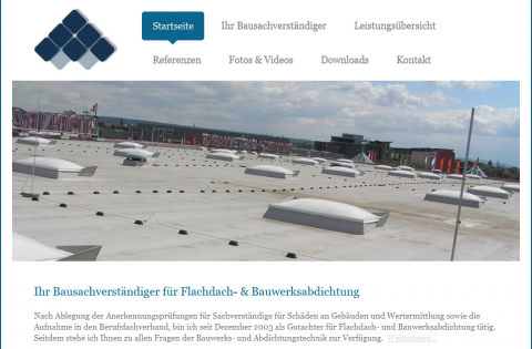Bausachverständiger für Flachdach- und Bauwerksabdichtung Kuno Haedler in Leipzig in Leipzig