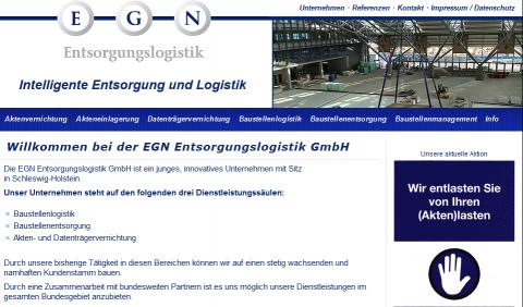 Intelligente Aktenvernichtung: EGN Entsorgungslogistik GmbH in Bokholt-Hanredder in Bokholt-Hanredder