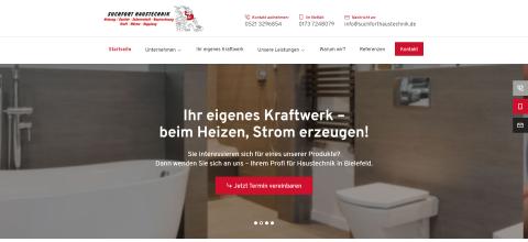 Ihr Experte für Haustechnik in Bielefeld: Suchfort Haustechnik in Bielefeld